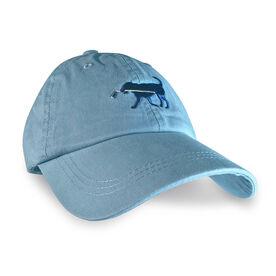 Hockey Dog Hat - Carolina Blue