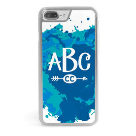 Cross Country iPhone® Case - Watercolor Monogram
