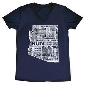 Women's Running Short Sleeve Tech Tee Arizona State Runner