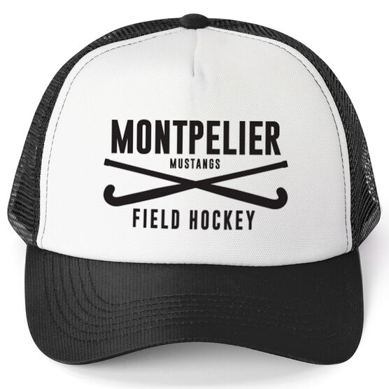 Field Hockey Trucker Hat - Team Name With Text