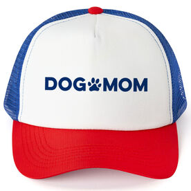 Personalized Trucker Hat - Dog Mom