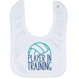 Volleyball Baby Bib - Player In Training