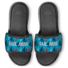 Personalized For You Repwell™ Slide Sandals - Nautical