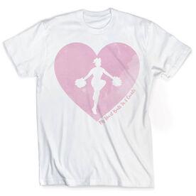 Vintage Cheerleading T-Shirt - My Heart Beats In 8 Counts