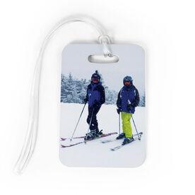 Skiing and Snowboarding Bag/Luggage Tag - Custom Photo