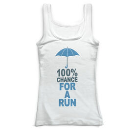 Running Vintage Fitted Tank - 100% Chance For A Run