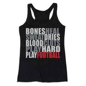 Football Women's Everyday Tank Top - Bones Saying Football
