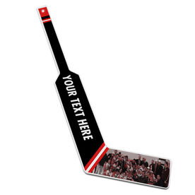 Personalized Knee Hockey Goalie Stick Your Text with Photo