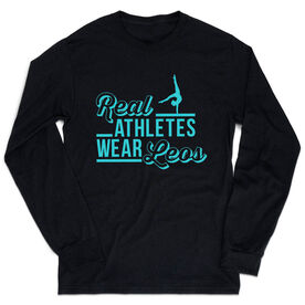 Gymnastics Tshirt Long Sleeve - Real Athletes Wear Leos
