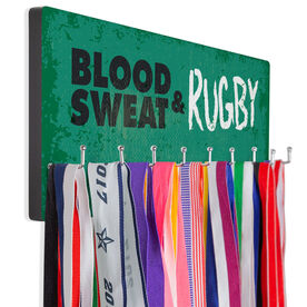 Rugby Hook Board Blood Sweat & Rugby
