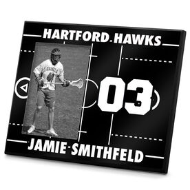 Lacrosse Personalized Photo Frame Lacrosse Field
