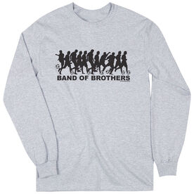 Soccer Tshirt Long Sleeve Soccer Band of Brothers