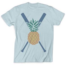 Vintage Softball T-Shirt - Pineapple Stitches