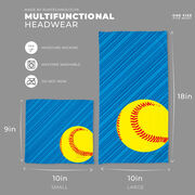 Softball Multifunctional Headwear - Lightning Softball RokBAND