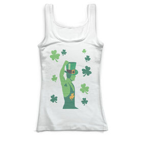 Wrestling Vintage Fitted Tank Top - Irish Wrestler