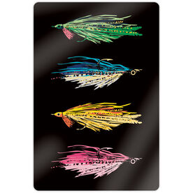 """Fly Fishing 18"""" X 12"""" Aluminum Room Sign - All Stocked Up"""