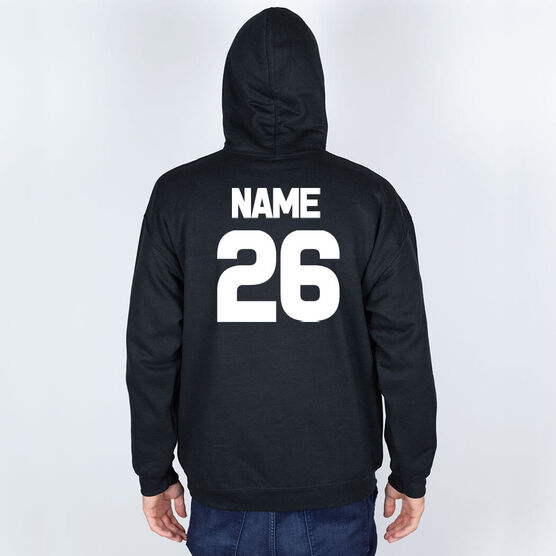 Football Hooded Sweatshirt - Bones Saying
