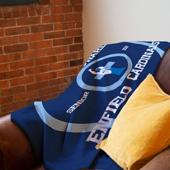 Wrestling Premium Blanket - Personalized Wrestling Senior