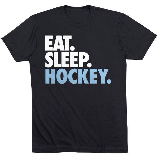 Hockey Short Sleeve T-Shirt - Eat. Sleep. Hockey.