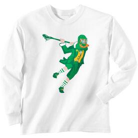 Guys Lacrosse Long Sleeve T-Shirt - St. Hat-Tricks