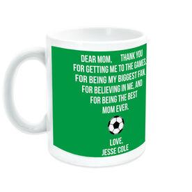 Soccer Coffee Mug - Dear Mom Heart