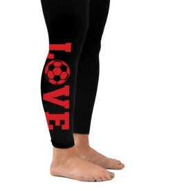 Soccer Leggings Love