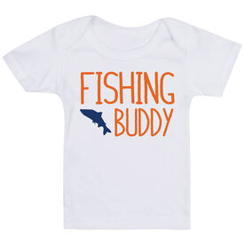 Fly Fishing Baby T-Shirt - Fishing Buddy
