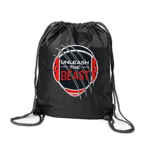 Wrestling Sport Pack Cinch Sack - Unleash The Beast