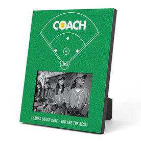Softball Photo Frame - Coach (Field)
