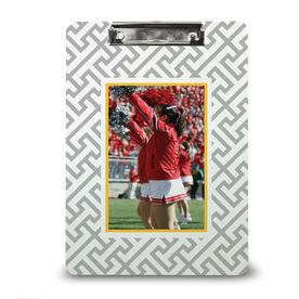 Cheerleading Custom Clipboard Cheer Your Photo Pattern