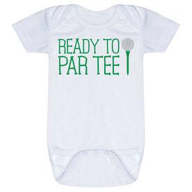Golf Baby One-Piece - Ready To Par Tee