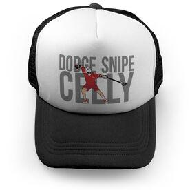 Lacrosse Trucker Hat - Dodge Snipe Celly