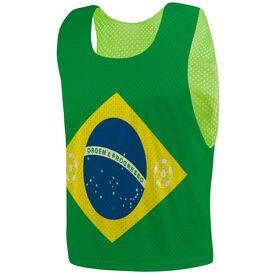 Soccer Pinnie - Brazil