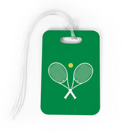 Tennis Bag/Luggage Tag - Crossed Rackets
