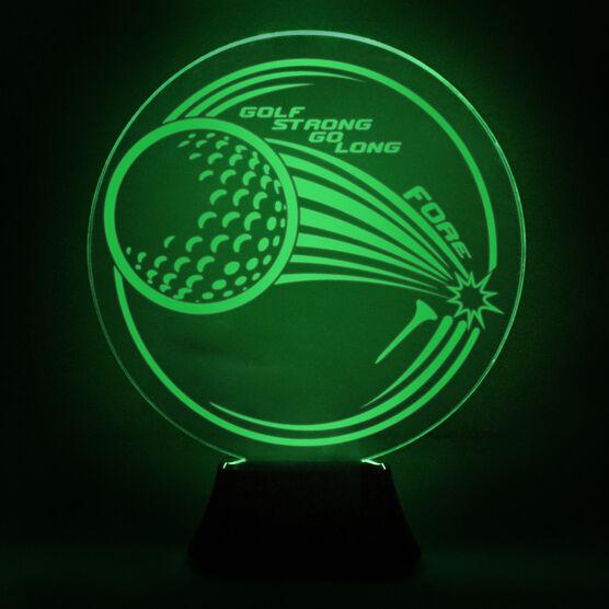 Golf Acrylic LED Lamp Fairway Drive