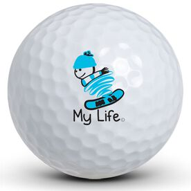 My Life - Snowboarding Golf Balls