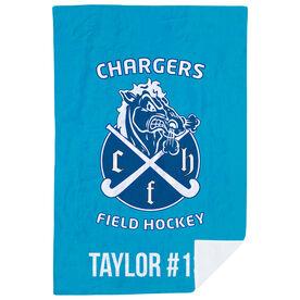 Field Hockey Premium Blanket - Custom Team Logo