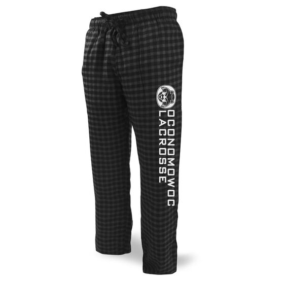Lounge Pants - Oconomowoc Lacrosse Logo