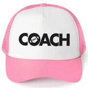 Football Trucker Hat - Coach