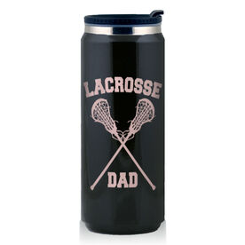 Stainless Steel Travel Mug Lacrosse Dad Girls Sticks