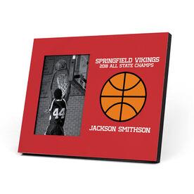 Basketball Photo Frame - Custom Basketball