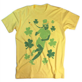 Vintage Girls Lacrosse T-Shirt - Play For St. Patrick's Day