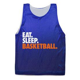 Basketball Pinnie Eat. Sleep. Basketball.