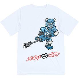Seams Wild Lacrosse Short Sleeve Tech Tee - Chillax