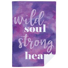 Premium Blanket - Wild Soul Strong Heart