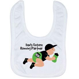 Running Baby Bib - Dad's Future Running Partner