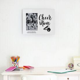 Cheerleading Photo Frame - Cheer Mom Script