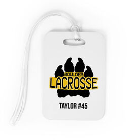 Lacrosse Bag/Luggage Tag - Custom Logo