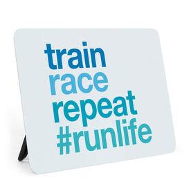 Running Desk Art - Train Race Repeat