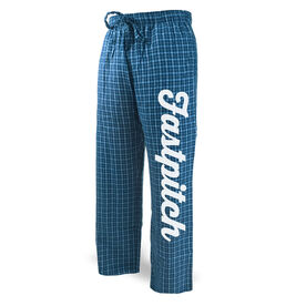 Softball Lounge Pants Fastpitch Script